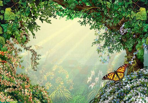 秘密花园第一页效果图_探索秘密花园的神奇